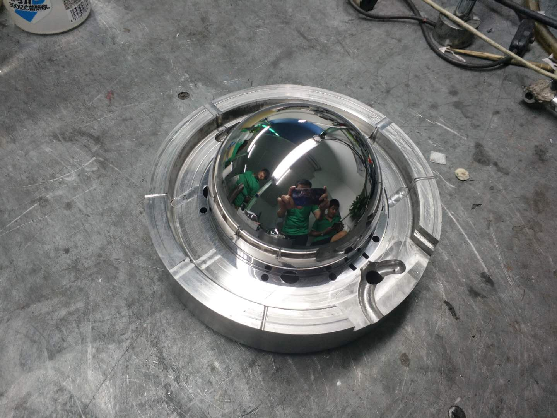 光学摄像头罩模具抛光